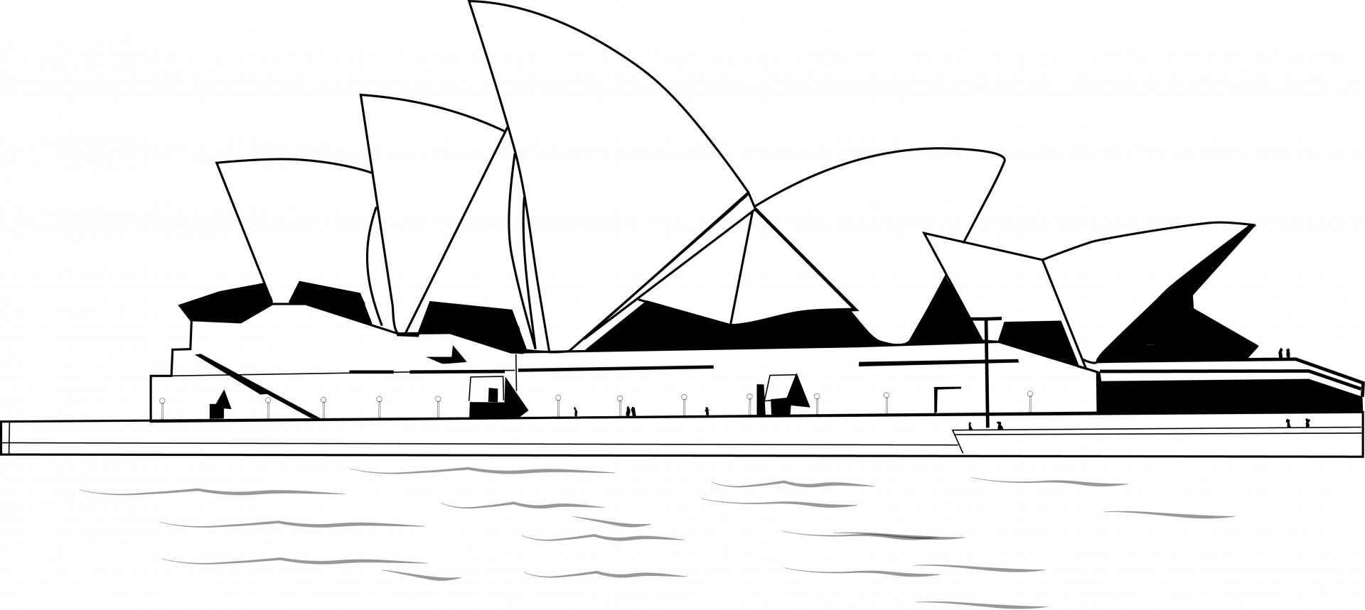 Glass Repair Sydney - Opera House Drawing